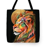Autumn Lion Tote Bag