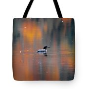 Autumn Loon Tote Bag