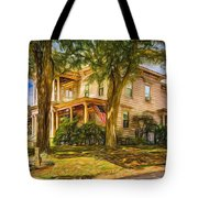 Autumn Mansion 4 - Paint Tote Bag
