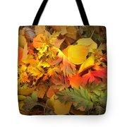 Autumn Masquerade Tote Bag by Martin Howard