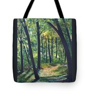 Autumn Meditation Tote Bag by Jean Ann Curry Hess