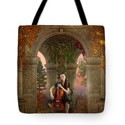 Autumn Melody Tote Bag
