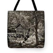 Autumn Mill 2 Sepia Tote Bag