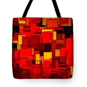 Autumn Modern Abstract Xv Tote Bag