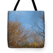 Autumn Moonrise Tote Bag