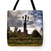 Autumn Morning At Symphony Circle V2 Tote Bag
