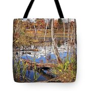 Autumn Morning At The Marsh Tote Bag