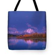 Autumn Morning Grand Tetons National Park Wyoming Tote Bag