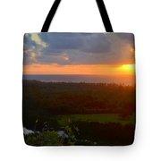 Autumn Morning Over Wailua Tote Bag