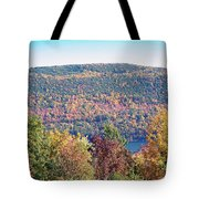 Autumn Mountain Tote Bag