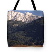 Autumn Snowcapped Mountain - Golden Ears - British Columbia Tote Bag