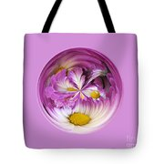 Autumn Mum Orb Abstract Tote Bag