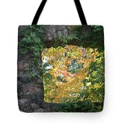 Autumn Naturally Framed Tote Bag