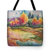 Autumn Near Taos Tote Bag