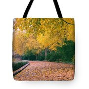 Autumn - New York City - Fort Tryon Park Tote Bag