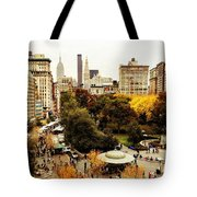 Autumn - New York Tote Bag