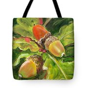 Autumn Oak Tote Bag