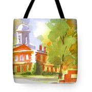 Autumn Observations Watercolor Tote Bag