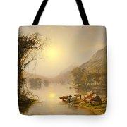 Autumn On Greenwood Lake Tote Bag