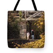Autumn On The C And O Canal Tote Bag