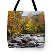 Autumn On The Esopus Tote Bag