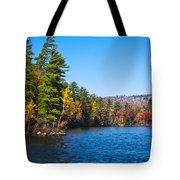 Autumn On The Fulton Chain Of Lakes In The Adirondacks IIi Tote Bag