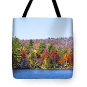 Autumn On The Fulton Chain Of Lakes In The Adirondacks Iv Tote Bag
