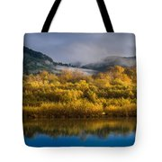 Autumn On The Klamath 1 Tote Bag