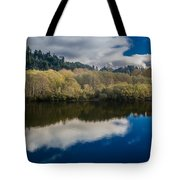 Autumn On The Klamath 10 Tote Bag