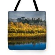 Autumn On The Klamath 2 Tote Bag