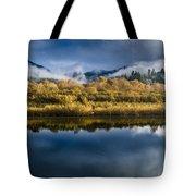 Autumn On The Klamath 7 Tote Bag