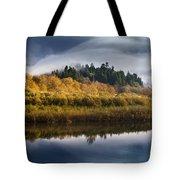 Autumn On The Klamath 9 Tote Bag