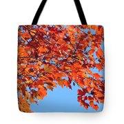 Autumn Orange Tote Bag
