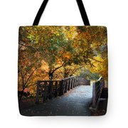 Autumn Overpass Tote Bag
