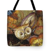 Autumn Owl Tote Bag