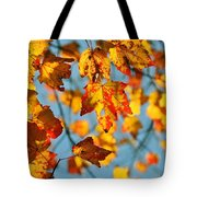 Autumn Petals Tote Bag by JAMART Photography