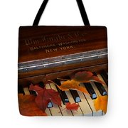 Autumn Piano 1 Tote Bag