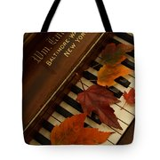 Autumn Piano 11 Tote Bag