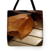 Autumn Piano 12 Tote Bag
