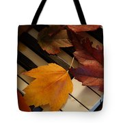 Autumn Piano 2 Tote Bag