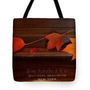 Autumn Piano 3 Tote Bag