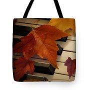 Autumn Piano 6 Tote Bag