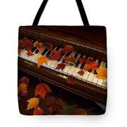 Autumn Piano 7 Tote Bag