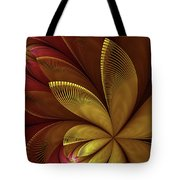 Autumn Plant Tote Bag