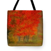 Autumn Popping Tote Bag