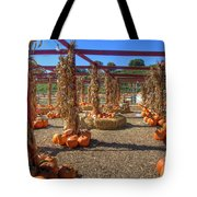 Autumn Pumpkin Patch Tote Bag by Joann Vitali