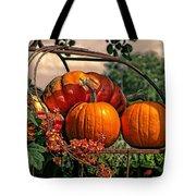Autumn Pumpkins Tote Bag