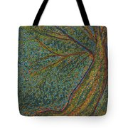 Autumn Rain Tree Tote Bag