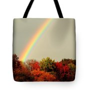 Autumn Rainbow Tote Bag