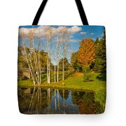 Autumn Reflecting Tote Bag